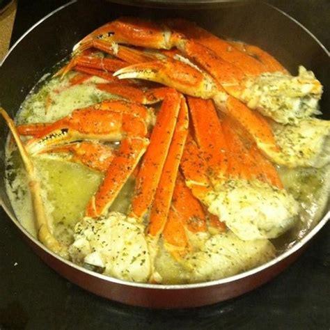 snow crab legs recipe charlize s garlic butter crab legs recipe just a pinch