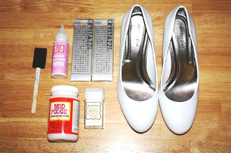 diy winter wedding shoes this fairy tale life