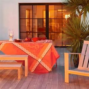 Nappe Jacquard Français : nappe de table provencale rouge haut de gamme ~ Teatrodelosmanantiales.com Idées de Décoration