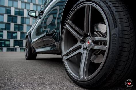 carbon black metallic bmw   vossen vps  forged wheels