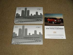 2019 Chevrolet Tahoe    Suburban Owners Manual Guide New