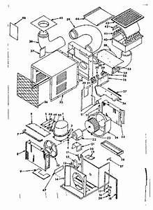 Sears Model 769810290 Air Heat Pump Outside