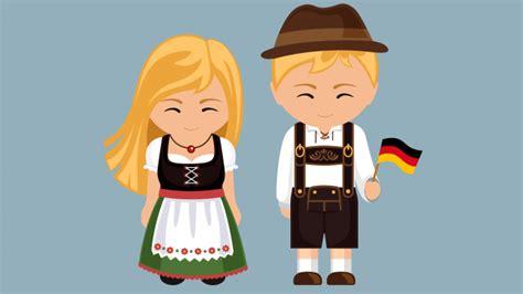 cuales son los trajes tipicos de alemania  hombre