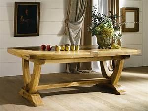Table En Chene Massif Avec Rallonges : tables en ch ne massif ~ Teatrodelosmanantiales.com Idées de Décoration