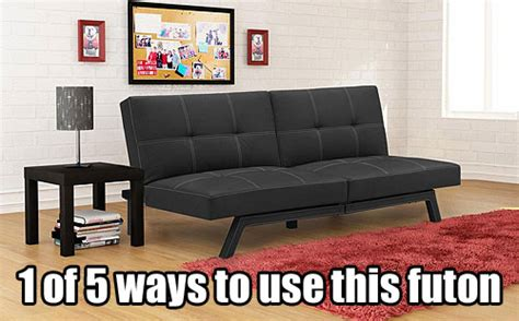 delaney split back futon sofa bed assembly instructions