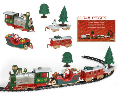 musical christmas train carriages novelty christmas tree
