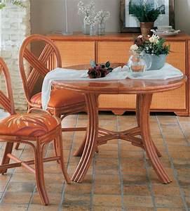 Table Ronde Avec Rallonge : table avec rallonge en rotin brin d 39 ouest ~ Teatrodelosmanantiales.com Idées de Décoration