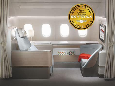 cabine de premier prix une pluie de r 233 compenses pour air par skytrax
