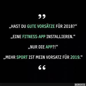 Hast du gute Vorsätze für 2018? Lustige Bilder, Sprüche