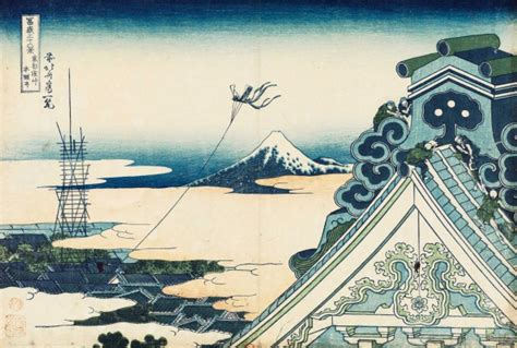 bnf l este japonaise hokusai les trente six vues du mont fuji
