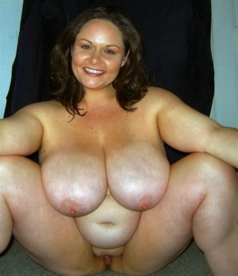 Cute Plump Brunette With Big Tits Spreads Her Legs