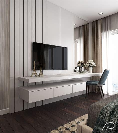 vinhomes central park  behance   bedroom tv unit