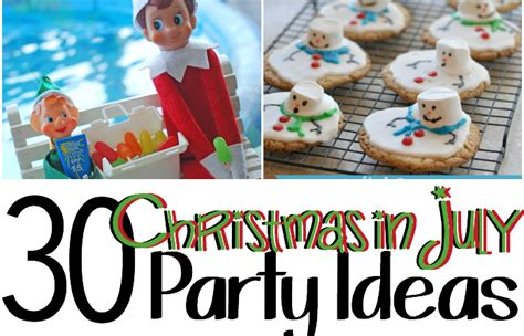 christmas in july decorations 30 in july ideas