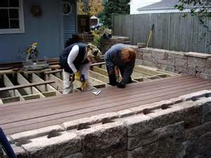 planning ideas installing screw composite decking