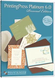 printingpress software printing invitations at home With wedding invitation printing software