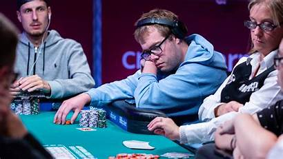 Poker Series Players Power Main Event End