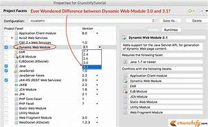 Ever Wondered Difference Between Dynamic Web Module 3 0