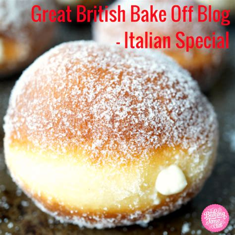 gbbo blog italian special baking time club