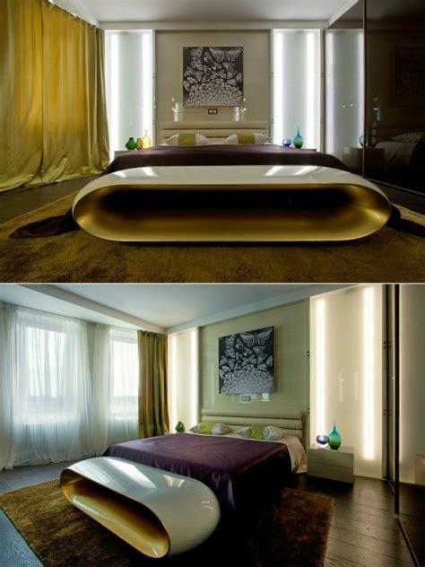 chambre ultra moderne décoration chambre à coucher moderne et confortable