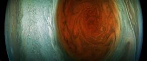 New Images from Juno's Recent Flyby of Jupiter's Great Red ...