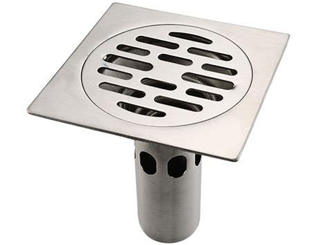 Floor Mounted Strainer by Deodorization Kitchen Bathroom Shower Stainless Steel