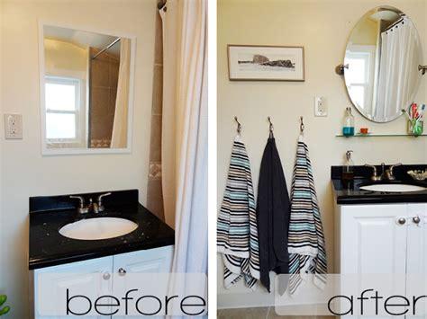 Diy  A Budgetfriendly And Quick Bathroom Makeover