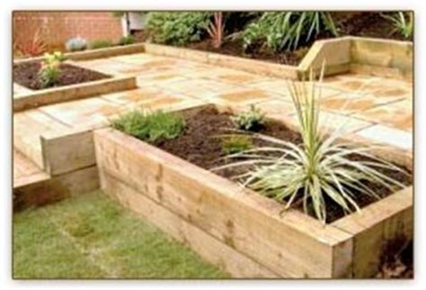 Making A Raised Bed From Railway Sleepers