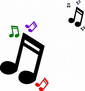 Colored Music Notes Clip Art at Clker.com - vector clip ...