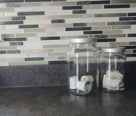kitchen stick on backsplash peel and stick kitchen backsplash walmart home design
