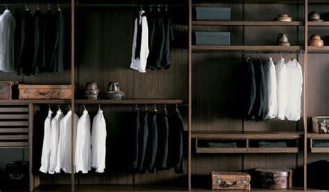 luxury mens closet interior