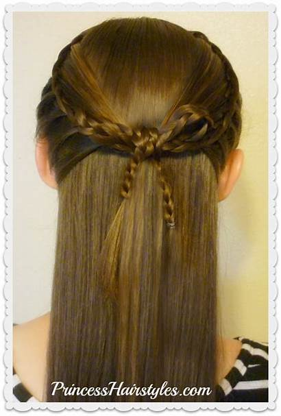 Braided Braids Bow French Tutorial Faux Hairstyle