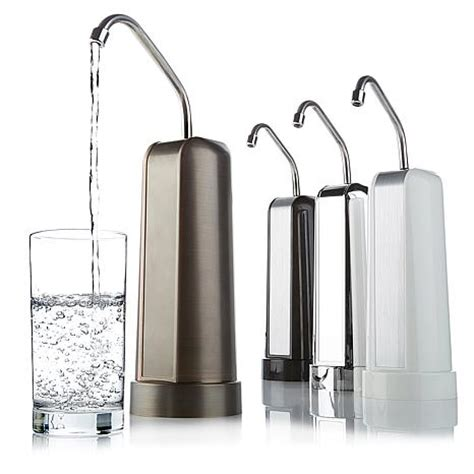 clean pure p35 countertop 35 000 gallon water filter