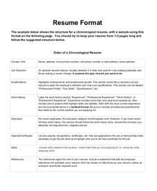Resume Sle Templates Resume Format 17 Free Word Pdf Documents Free Premium Templates