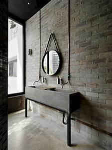 Top, 20, Gorgeous, Industrial, Small, Bathroom, Design, Ideas, Freshouz, Com