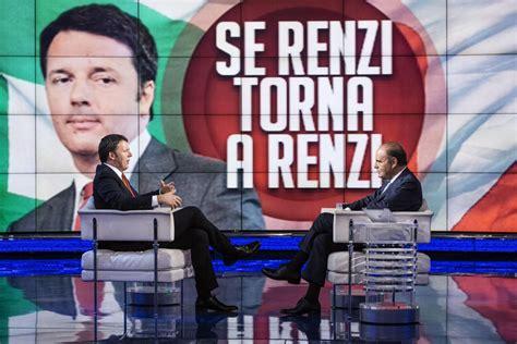 Matteo Renzi Porta A Porta by Cosa Ha Detto Renzi A Porta A Porta Internazionale