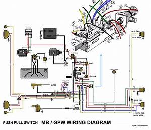 G503 Wwii Willys And Ford Late 1945 Jeep Rotary Main Switch Wiring Diagram