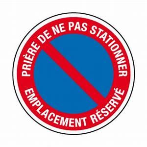 Panneau Interdit De Stationner : ci4 panneau interdiction de stationner emplacement ~ Dailycaller-alerts.com Idées de Décoration