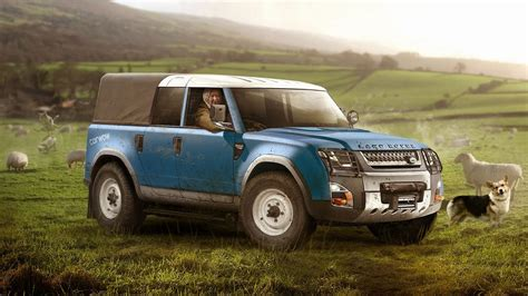 Land Rover 2019 : 2019 Land Rover Defender Rendered For Various Tasks