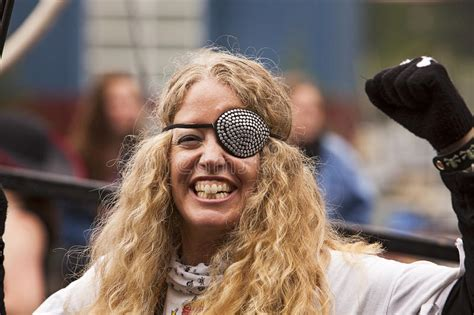 Woman With Eyepatch Editorial Stock Photo. Image Of Woman