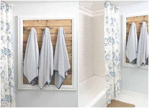 bathroom towel bar ideas 15 cool diy towel holder ideas for your bathroom