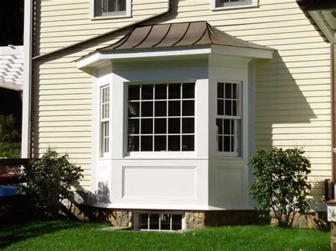 House Exterior Bay Windows With Roof  Homemade Cleaners