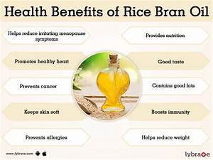 Rice Bran Oil Benefits And Its Side Effects