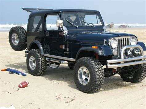 jeep dark blue sell used 1982 cj7 lifted dark blue extra clean in