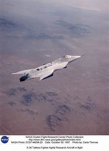 X-36 EC97-44294-23: X-36 Tailless Fighter Agility Research ...