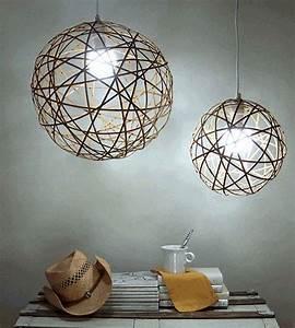 Abat Jour Design : abat jour diy et suspendu en 60 id es ~ Melissatoandfro.com Idées de Décoration