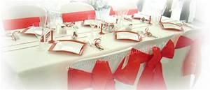 Décoration Mariage Rouge Et Blanc : d coration mariage th me amour d co mariage en rouge ~ Melissatoandfro.com Idées de Décoration