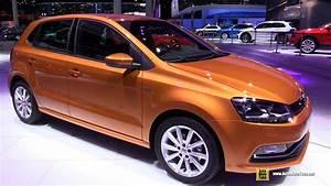 Volkswagen Polo 2016 : 2016 volkswagen polo tsi bluemotion exterior and interior walkaround 2015 frankfurt motor ~ Medecine-chirurgie-esthetiques.com Avis de Voitures