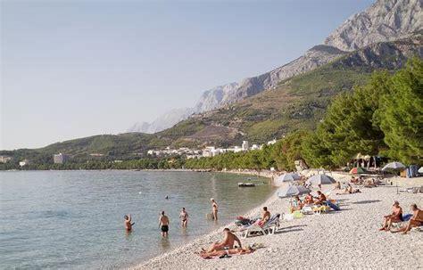 schoene natur von tucepi dalmatien kroatien