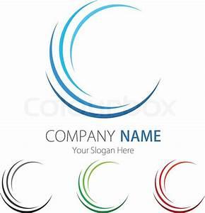 Company (Business) Logo Design Stock Vector Colourbox