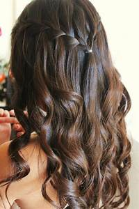 Step To Step Guide On How To Do A Waterfall Braid With